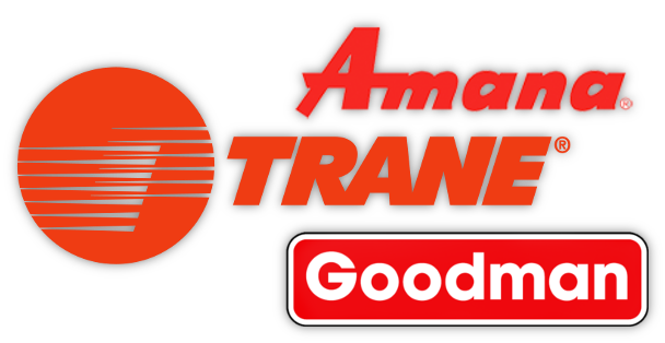 Heating and Air Conditioning units Trane Goodman And Amana